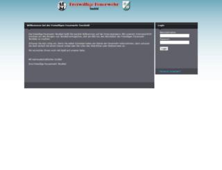 feuerwehr-tensfeld.de screenshot