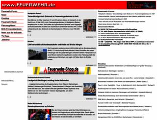 feuerwehr.de screenshot