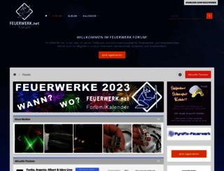 feuerwerk-forum.de screenshot