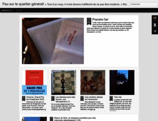 feusurlequartiergeneral.blogspot.fr screenshot