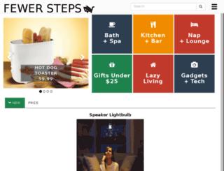 fewersteps.com screenshot