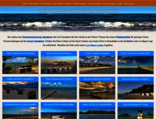 fewos-usedom.de screenshot