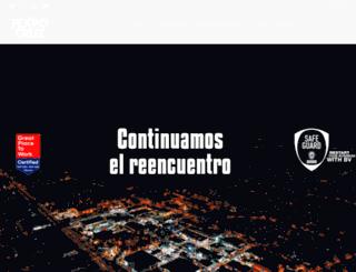 fexpocruz.com.bo screenshot