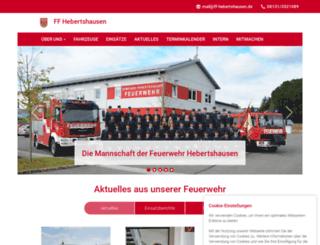 ff-hebertshausen.de screenshot
