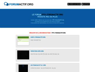 ff51.forumactif.org screenshot