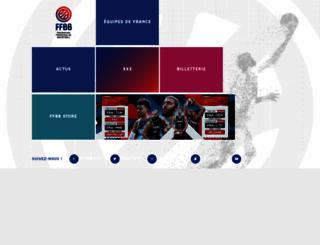 ffbb.com screenshot