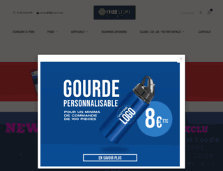 ffbbstore.com screenshot