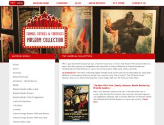 fffmoviepostermuseum.com screenshot