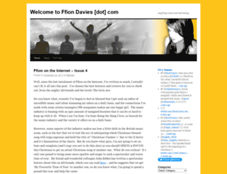 ffidavies.wordpress.com screenshot