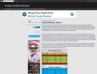 fflibrarian.com screenshot