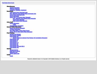 ffmusic.ffshrine.org screenshot