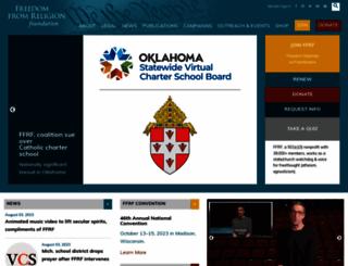 ffrf.org screenshot