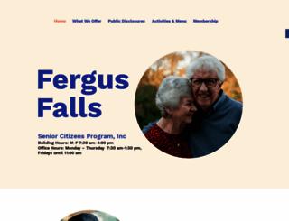ffsenior.org screenshot