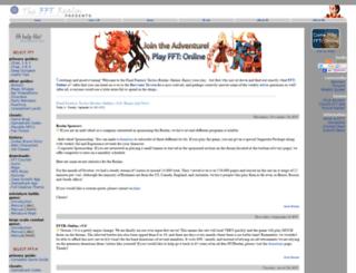 fftrealm.com screenshot