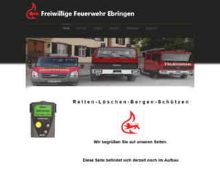 ffw-ebringen.de screenshot