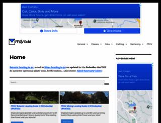 ffxivguild.com screenshot