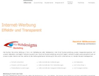 fg-webdesigns.de screenshot
