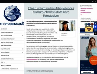 fh-studiengang.de screenshot