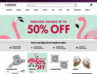 fhinds.co.uk screenshot
