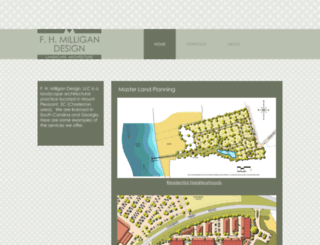 fhmilligandesign.com screenshot