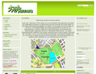 fhrunners.eu screenshot