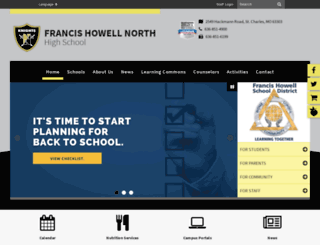 fhsdfhn.sharpschool.net screenshot