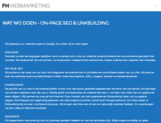 fhwebmarketing.nl screenshot