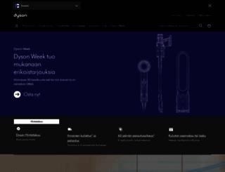 fi.dyson.com screenshot