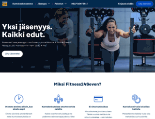 fi.fitness24seven.com screenshot