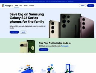 fi.google.com screenshot