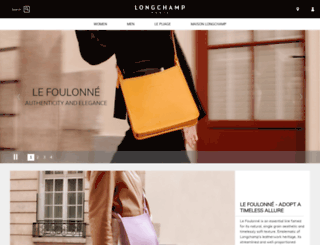 fi.longchamp.com screenshot