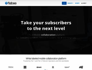 fiabee.com screenshot
