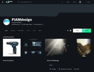 fiamdesign.deviantart.com screenshot