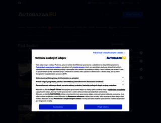 fiat-sedici.autobazar.eu screenshot
