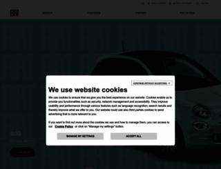 fiat.co.za screenshot
