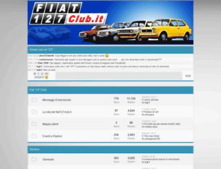 fiat127club.forumfree.net screenshot