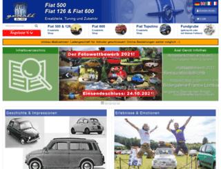 fiat500126.com screenshot