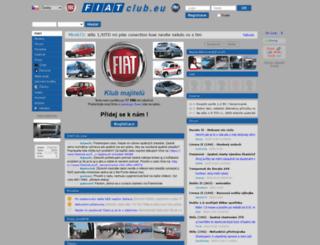 fiatclub.eu screenshot