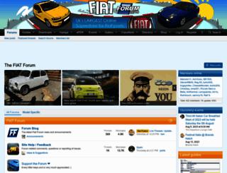 fiatforum.com screenshot