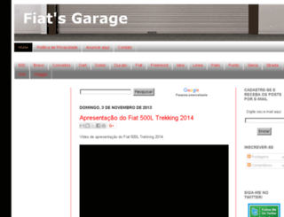 fiatsgarage.blogspot.com screenshot