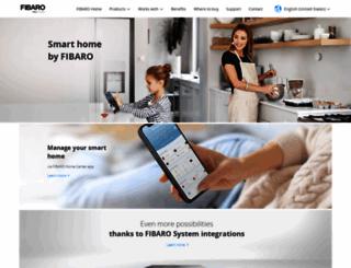 fibaro.com screenshot
