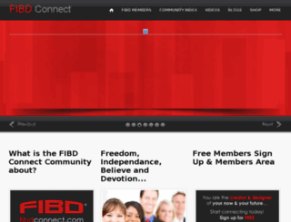 fibdconnect.com screenshot