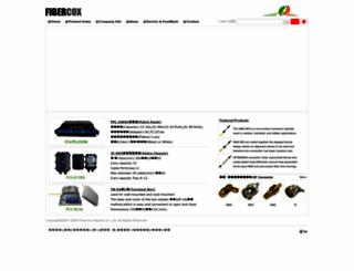 fibercox.com screenshot