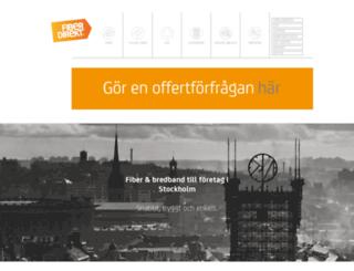fiberdirekt.se screenshot