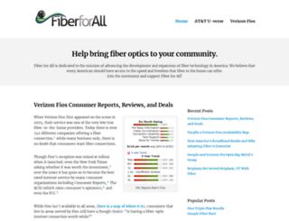 fiberforall.org screenshot