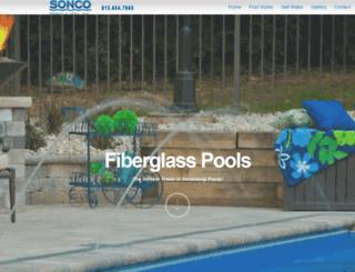 fiberglasspoolpros.com screenshot