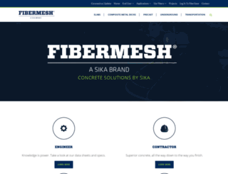 fibermesh.com screenshot