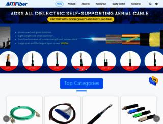 fiberopticpatch-cord.com screenshot