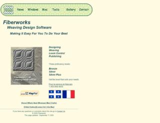 fiberworks-pcw.com screenshot
