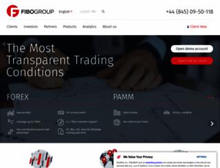 fibogroup.com screenshot